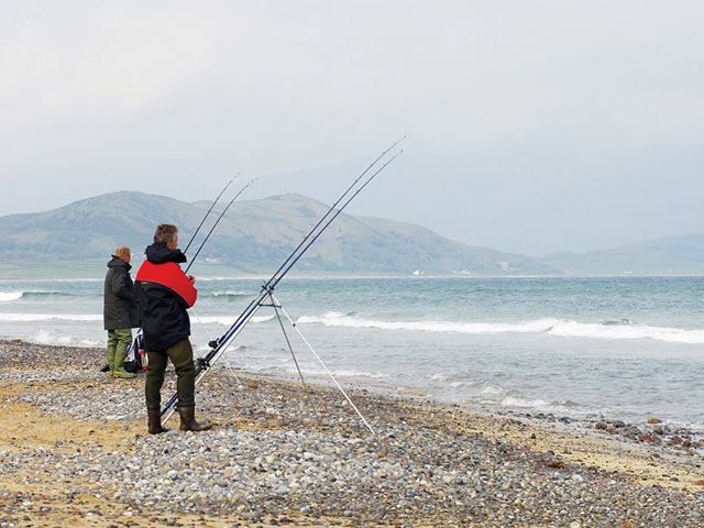 Shore fishing Kerry