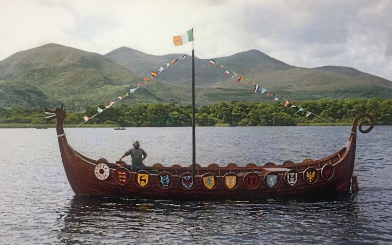 Viking boat Killarney